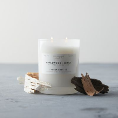 Sydney Hale Candle, Applewood + Birch