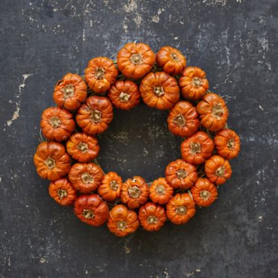 Pumpino Double Circlet Wreath