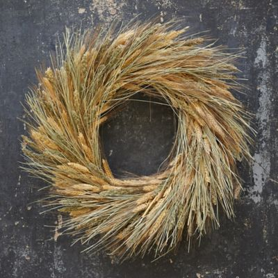 Mixed Grasses Wreath
