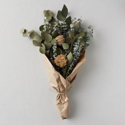 Dried Artichoke + Eucalyptus Bouquet