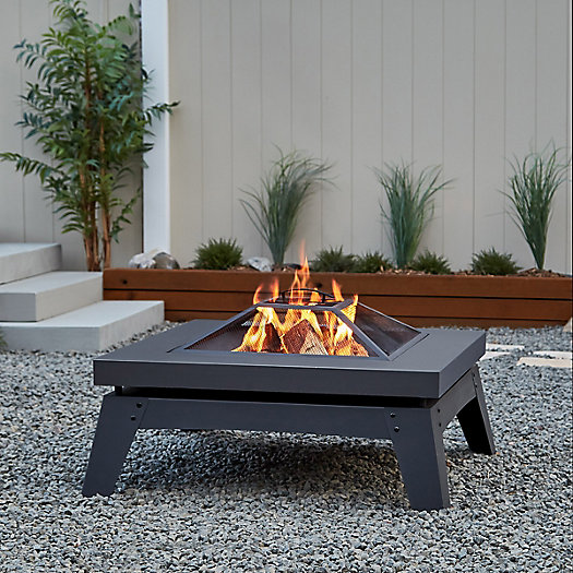 View larger image of Real Flame Breton Wood Fire Pit
