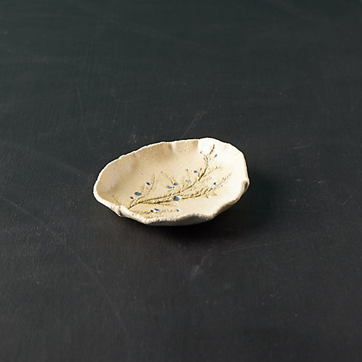 View larger image of Evergreen Stoneware Trinket Dish