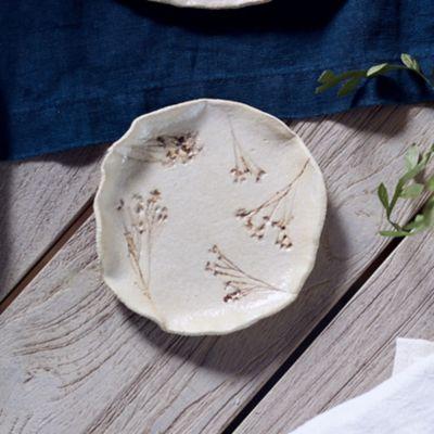 Evergreen Stoneware Trinket Dish