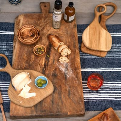 Oversized Rectangle Wood Serving Board
