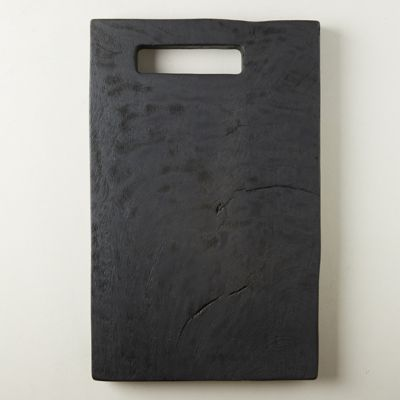 Black Wood Serving Board