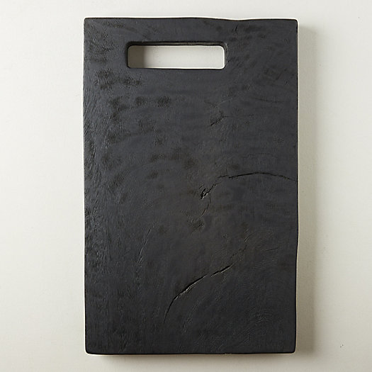 View larger image of Black Wood Serving Board