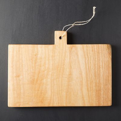 Square Wood Serving Board