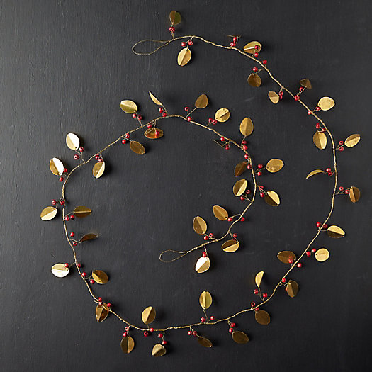 View larger image of Iron Leaf + Berry Garland