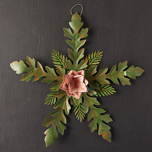 View larger image of Iron Flower + Leaves Rosette