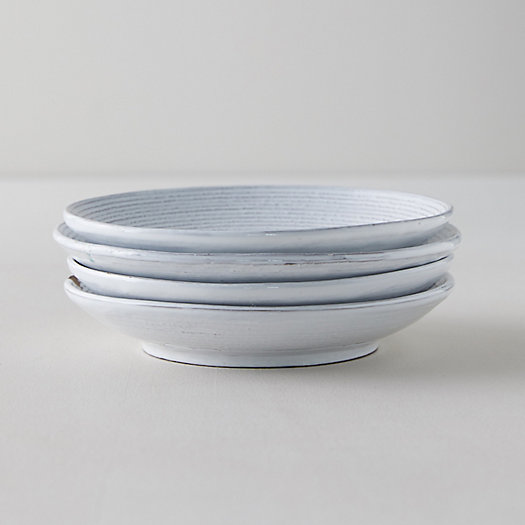 View larger image of Farmstead Pasta Plates, Set of 4