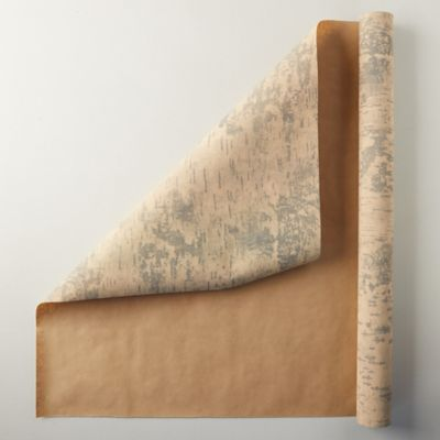 Birch Tree Kraft Wrapping Paper