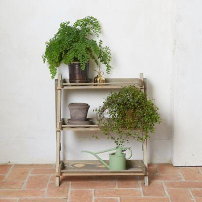Spruce 3-Shelf Plant Stand