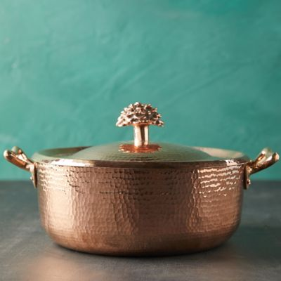 Copper Casserole Dish, 11""