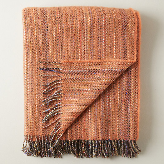 View larger image of Merino Wool Striped Throw