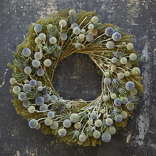 View larger image of Preserved Sweet Annie + Echinops Wreath