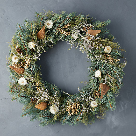 View larger image of Fresh Winter White Wreath