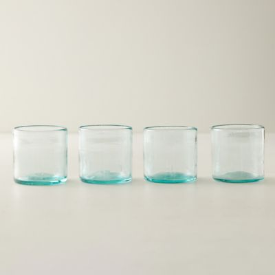 Double Old Fashioned Glasses, Set of 4