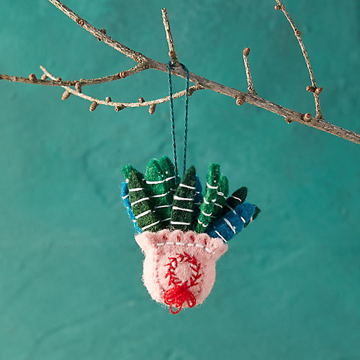 View larger image of Potted Houseplant Felt Ornament