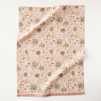 Green Leaves Dish Towel