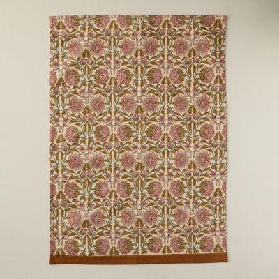Rose + Vine Tea Towel