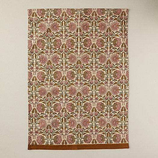 View larger image of Rose + Vine Tea Towel
