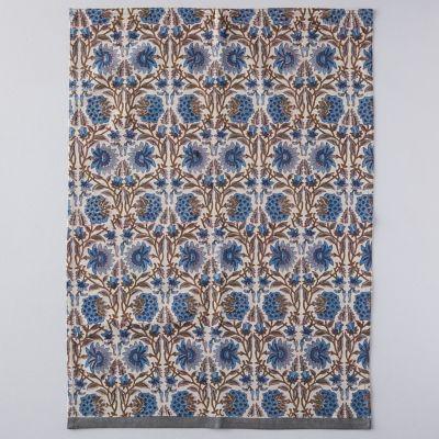 Topaz Flower Tea Towel