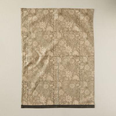 Sanded Florals Dish Towel