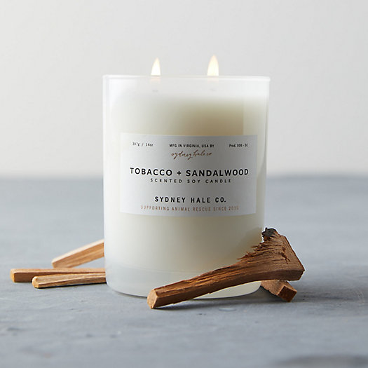 View larger image of Sydney Hale Candle, Tobacco + Sandalwood
