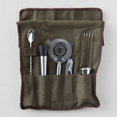 Travel Cocktail Barware Tool Set