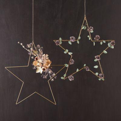 Iron Star Wreaths, Set of 2