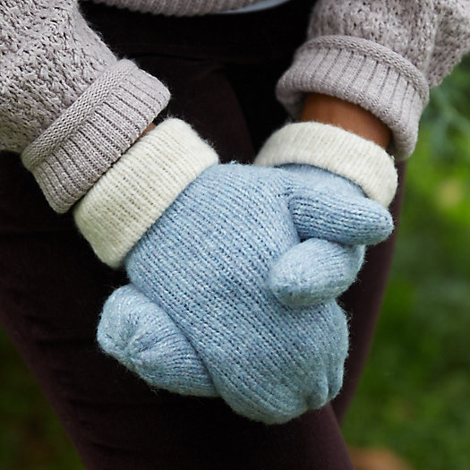 View larger image of Reversible Wool Blend Mittens