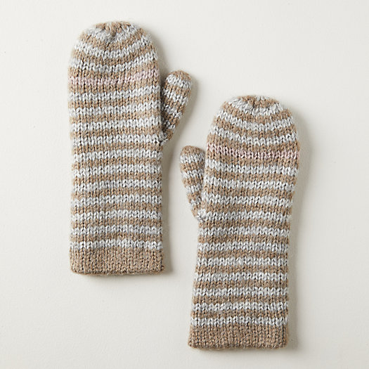 View larger image of Striped Mittens
