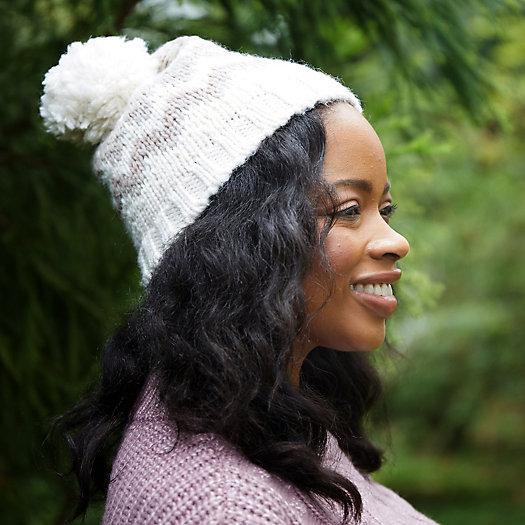 View larger image of Fairisle Pom Cashmere Blend Hat