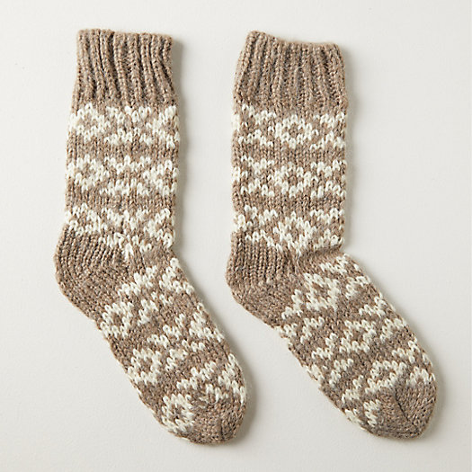 View larger image of Sleigh Ride Cabin Socks