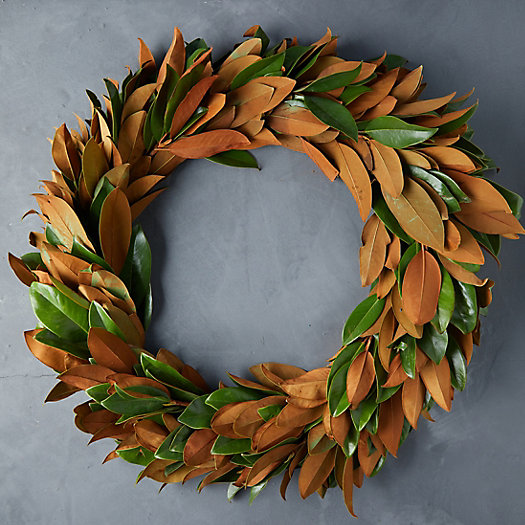 View larger image of Fresh Magnolia Wreath