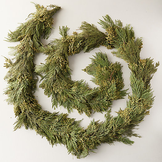 View larger image of Fresh Incense Cedar Garland