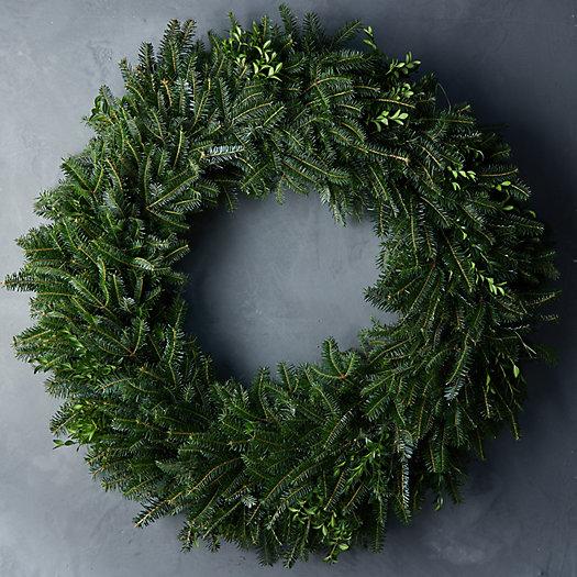 View larger image of Fresh Fraser Fir Wreath
