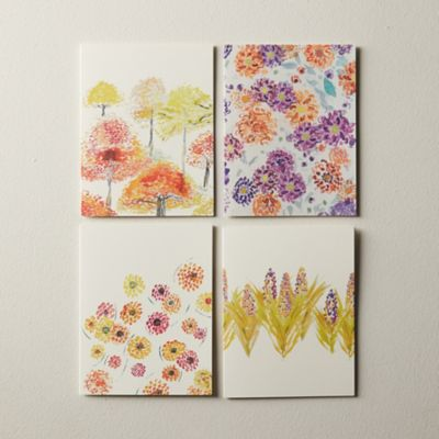 Fall Botanicals Greeting Cards, Set of 8