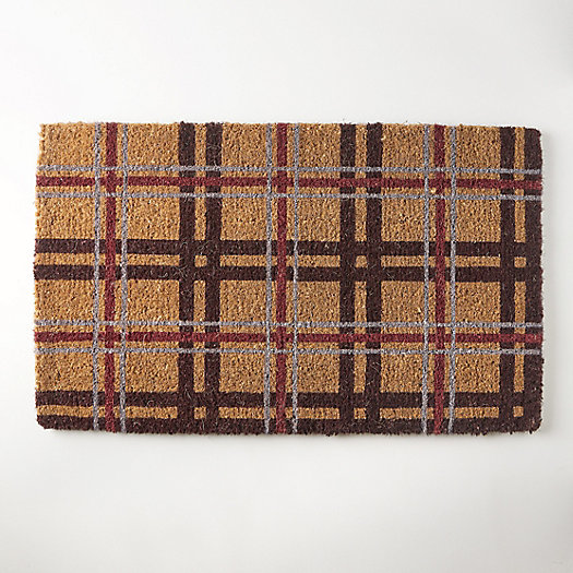 View larger image of Plaid Doormat