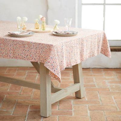 Pink Blossoms Tablecloth