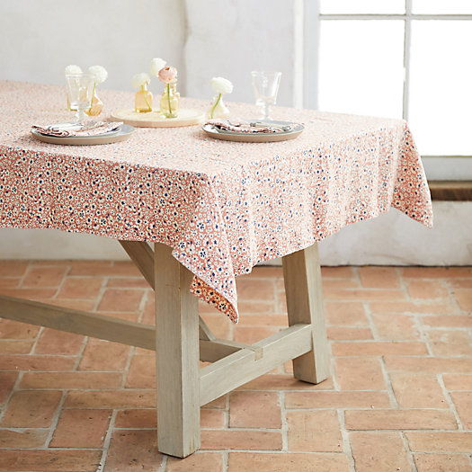 View larger image of Pink Blossoms Tablecloth