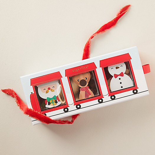 View larger image of Holiday Treat Train, Set of 3