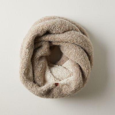 Fleece-Lined Infinity Scarf
