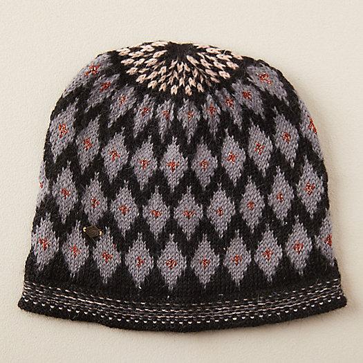 View larger image of Alpaca Wool Geo Print Hat