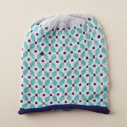 View larger image of Alpaca Wool Flower Hat