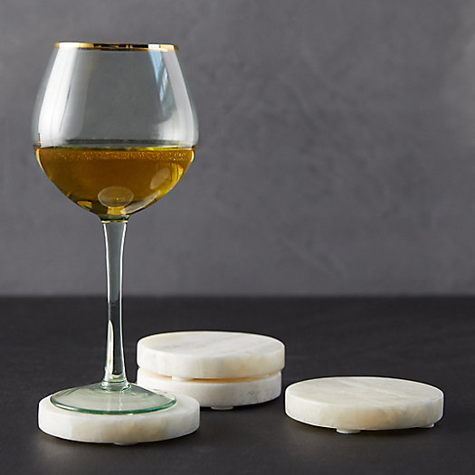 View larger image of Onyx Coasters, Set of 4