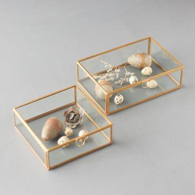 Brass Curio Display Box