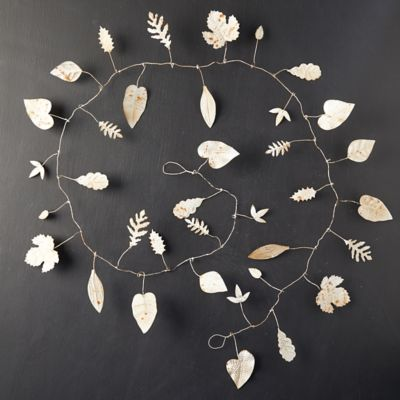 Iron Winter Leaf Garland