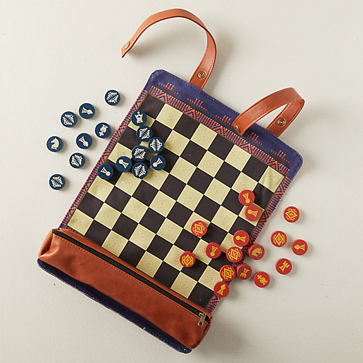 View larger image of Pendleton Chess + Checkers Game Set