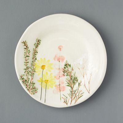 Meadow Flower Ceramic Dinner Plate
